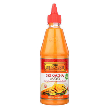 Lee Kum Kee Mayonnaise - Sriracha - Case of 6 - 15 fl oz