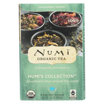Numi Tea Tea - Assorted - Numi Collection - Case of 6 - 16 BAG