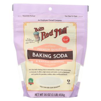 Bob's Red Mill - Baking Soda - Case of 6-16 oz