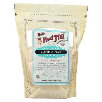 Bob's Red Mill - Sugar - Fine Crystal - Case of 4 - 32 oz.
