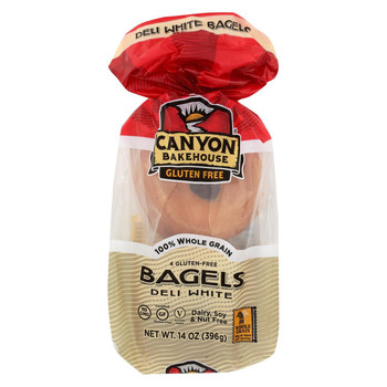 Canyon Bakehouse - Bagel Deli White - Case of 6-14 oz