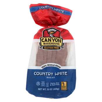 Canyon Bakehouse - Bread White Loaf Country - Case of 6-15 oz