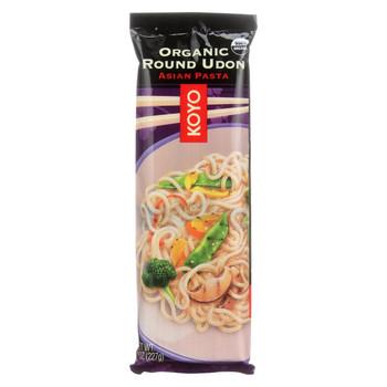 Koyo Organic Udon Noodle - Round - 8 oz.