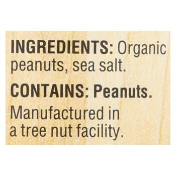 Woodstock Organic Crunchy Easy Spread Peanut Butter - 1 Each 1 - 18 OZ