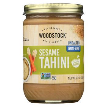 Woodstock Tahini - Unsalted - 16 oz.