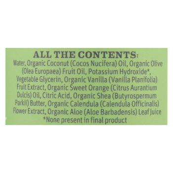 Earth Mama - Baby Wash - Vanilla Orange - 5.3 fl oz.