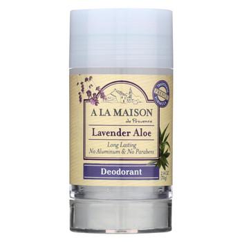 A La Maison - Deodorant - Lavender - 2.4 Oz