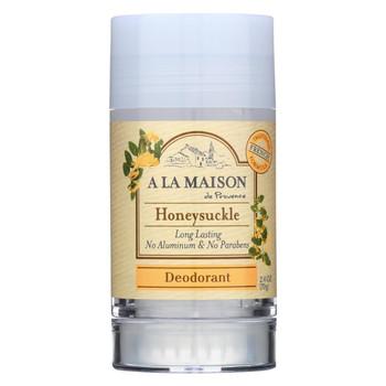 A La Maison - Deodorant - Honeysuckle - 2.4 Oz