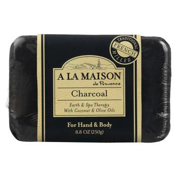 A La Maison - Bar Soap - Charcoal - 8.8 Oz