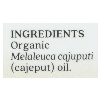 Aura Cacia Essential Oil - Cajeput - Case of 1 - .25 fl oz.