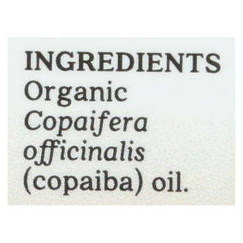 Aura Cacia - Essential Oil - Copaiba - Case of 1 - .25 fl oz.