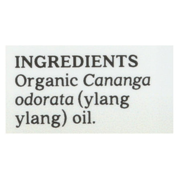 Aura Cacia - Essential Oil - Ylang Ylang Complete - Case of 1 - .25 fl oz.