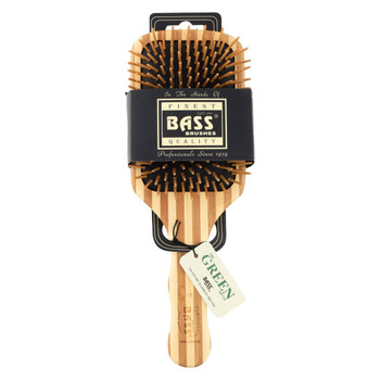 Bass Brushes - Large Wood Paddle Brush