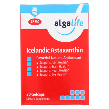 Algalife USA Icelandic Astaxanthin 12mg - 30 Count