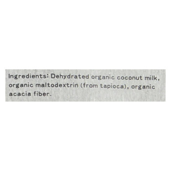 Wildly Organic - Coconut Milk Powder - Case of 6 - 8 OZ