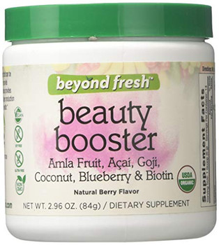 Beyond Fresh - Beauty Booster - Natural Berry Flavor - 2.96 oz.