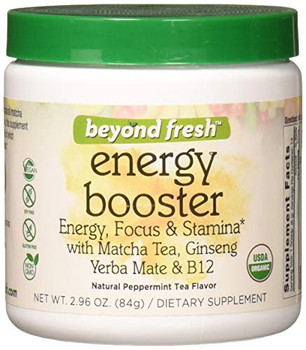 Beyond Fresh - Energy Booster - Natural Peppermint Tea Flavor - 2.96 oz.