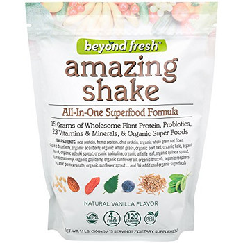 Beyond Fresh - Amazing Shake - Natural Vanilla Flavor - 500 g
