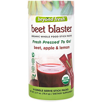 Beyond Fresh - Fresh Pressed to Go - Beet Blaster -  Beet Apple and Lemon - 14 Count