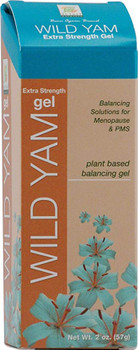 At Last Naturals Wild Yam Gel - Extra Strength - 2 oz.