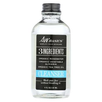 S.W. Basics - 3 Ingredients Cleanser - 4 fl oz.