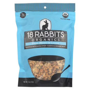 18 Rabbits - Organic Granola - Pecan Almond and Coconut - Case of 6 - 11 oz.