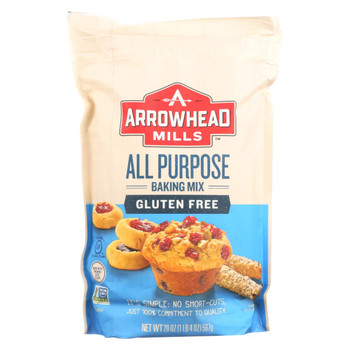 Arrowhead Mills - All Purpose Baking Mix - Gluten Free - Case of 6 - 20 oz.
