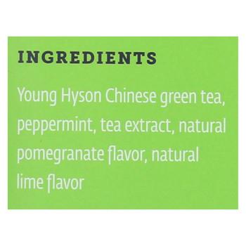 Zest Tea - Green Tea - Pomegranite Mojito - Case of 6 - 1.32 oz.