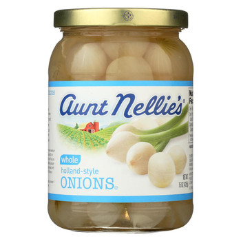 Aunt Nellie's Whole Holland-Style Onions -15 oz.