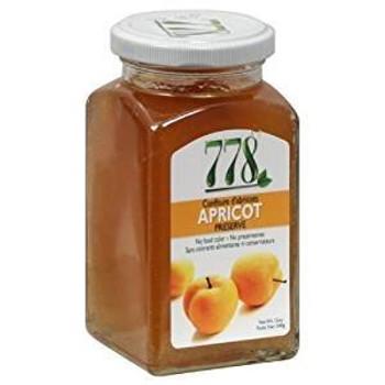 778 Preserves - Apricot - Case of 12 - 12 oz.