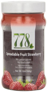 778 Preserves - Strawberry - Case of 12 - 12 oz.