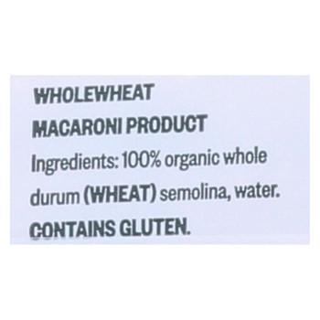 Delverde - Spaghetti - Organic Whole Wheat - Case of 6 - 16 oz.