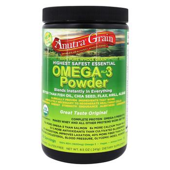 Anutra - Omega-3 Powder - Original - 8.5 oz.