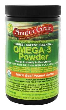 Anutra - Omega-3 Powder - Peanut Butter - 8.5 oz.