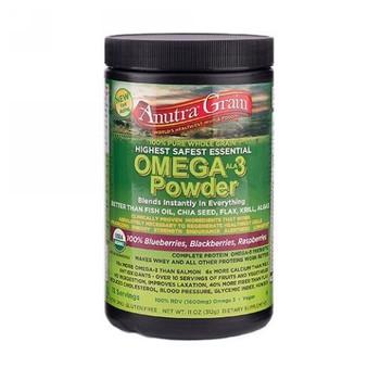 Anutra - Omega-3 Powder - Chocolate - 8.5 oz.