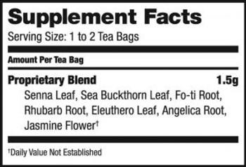 Bravo Teas and Herbs - Tea - Colon Cleansing - 20 Bag