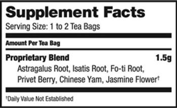 Bravo Teas and Herbs - Tea - Daily Immunity - 20 Bag