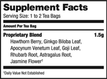 Bravo Teas and Herbs - Tea - Cholesterol Health - 20 Bag