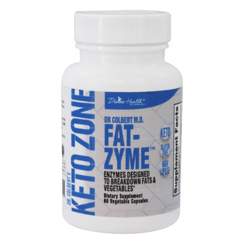Divine Health - Keto Zone - Fat-Zyme - 1.6 oz.