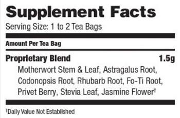 Bravo Teas and Herbs - Tea - Clear and Smooth Skin - 20 Bag