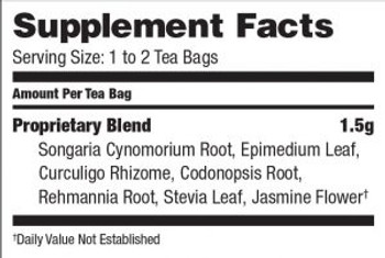 Bravo Teas and Herbs - Tea - Male Vitality - 20 Bag
