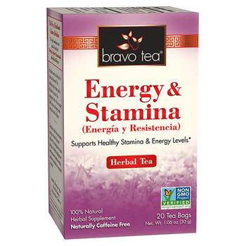 Bravo Teas and Herbs - Tea - Energy and Stamina - 20 Bag
