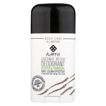 Alaffia - Deodorant - Coconut Vetiver - 2.65 oz.