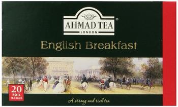 Ahmad - Tea - English Breakfast - Case of 6 - 20 Bags