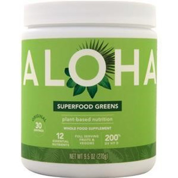 Aloha Inc - Superfood Greens Powder - Original - 9.5 oz.