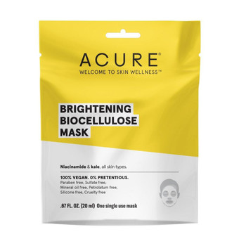 Acure - Biocellulose Face Mask - Seriously Soothing - Case of 6 - 1 Each