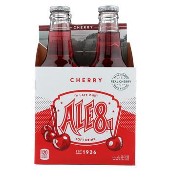 Ale-8-one Btlg - Ginger Ale Cherry - Case of 6-4/12 fl oz.
