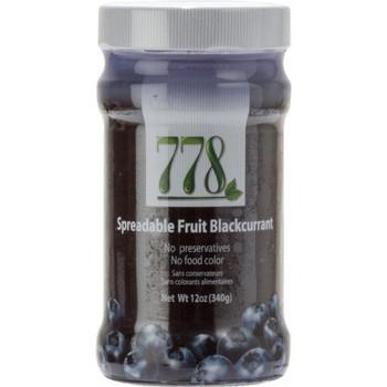 778 Preserves - Black Currant - Case of 12 - 12 oz..