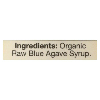 Aunt Patty's - Blue Agave Syrup - Raw - Case of 6 - 16.5 fl oz.