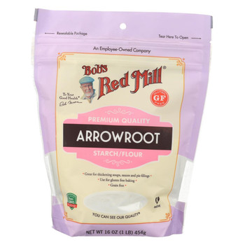 Bob's Red Mill - Arrowroot Starch - Case of 4-16 oz.